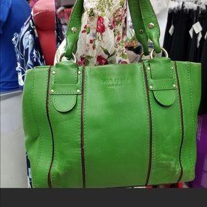 Vintage Kate Spade Green purse